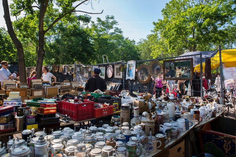 Mauerpark Flea Market Berlin, Germany