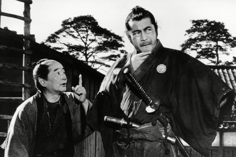 Yojimbo Yojinbo Year : 1961 Japan Director : Akira Kurosawa Ikio Sawamura, Toshiro Mifune. Image shot 1961. Exact date unknown.
