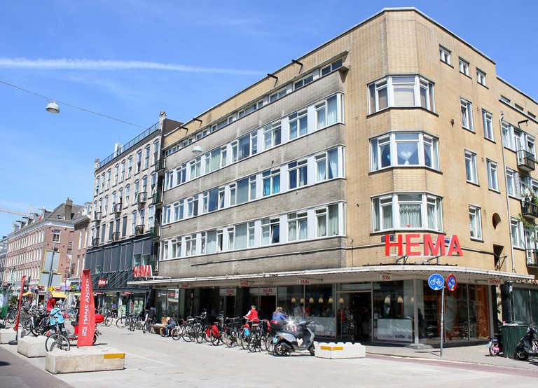 HEMA department store at Ferdinand Bolstraat, De Pijp, Amsterdam Zuid, Amsterdam, Netherlands