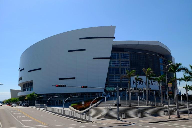 American Airlines Arena, Miami, Florida.