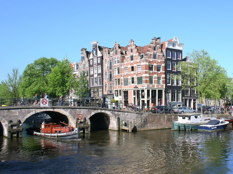 Brouwersgracht canal in Amsterdam