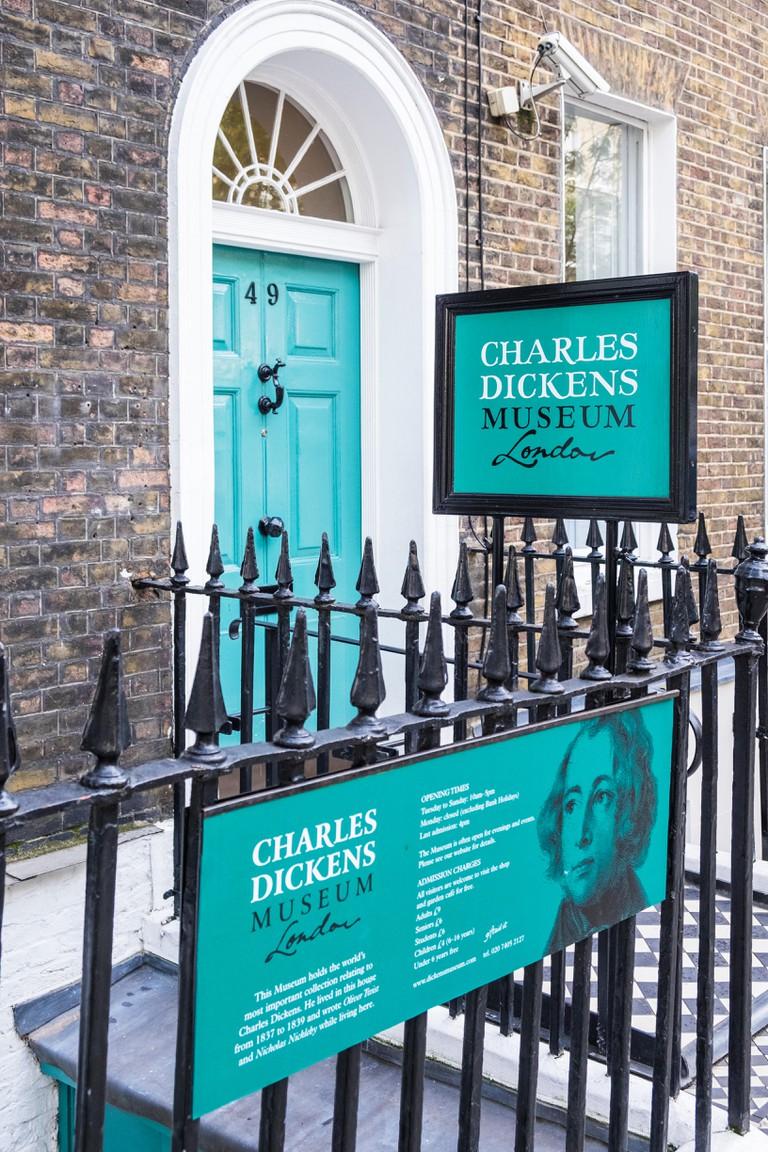 Charles Dickens Museum, London, England, U.K.