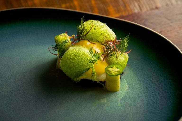 Try Alter's beautifully plated grouper
