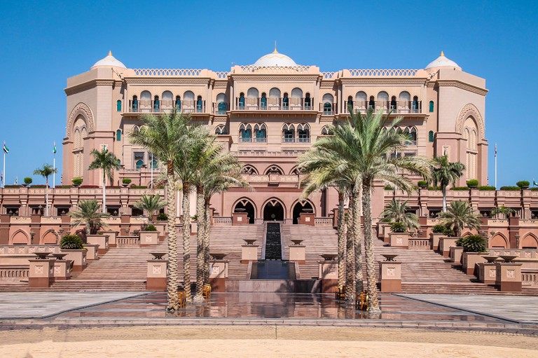 Emirates Palace, Abu Dhabi, United Arab Emirates.