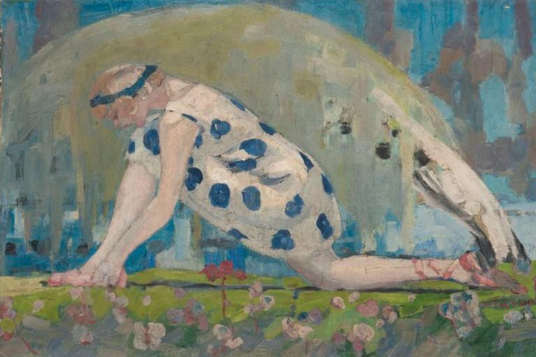 Jacqueline Marval, 'The Dancer', 1909
