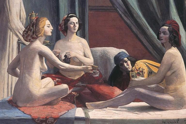 Jacqueline Marval, 'Les Odalisques', 1903