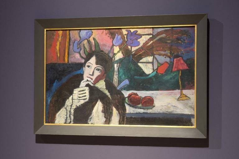Gabriele Münter, 'Sinnende', 1917