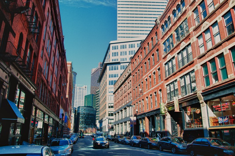 Boston's Leather District.