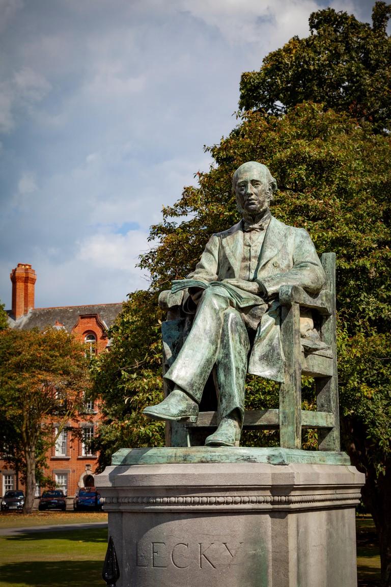 William Edward Hartpole Lecky Statue, Trinity College, Dublin