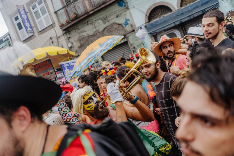 Rio comes to a halt for a week as the city's streets fill up with dozens of parties