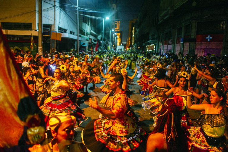 Carnival spirit takes over the streets throughout Rio