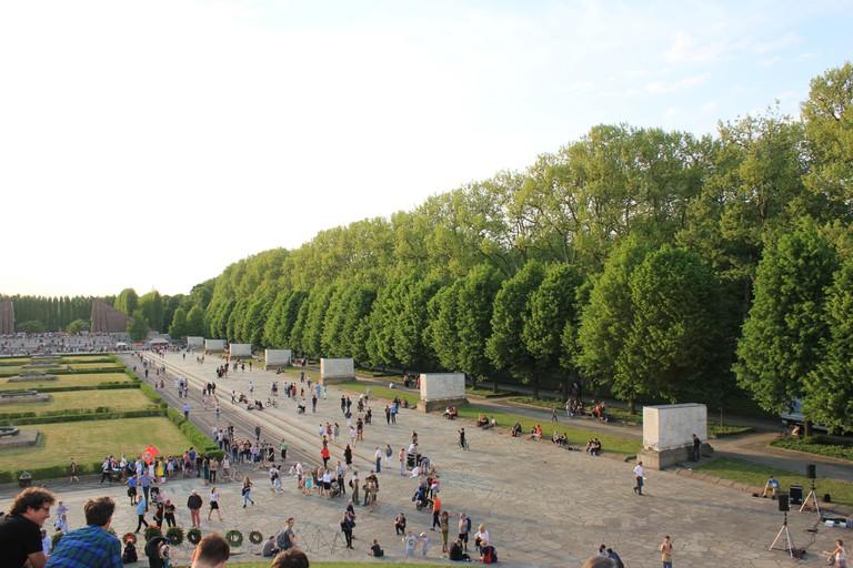 Soviet War Memorial in Treptower Park in Berlin