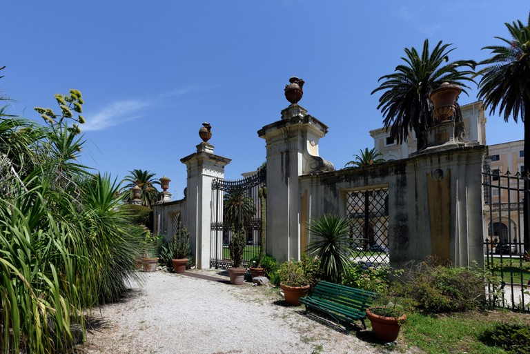 The Orto Botanico was once the private garden of the nearby Palazzo Corsini