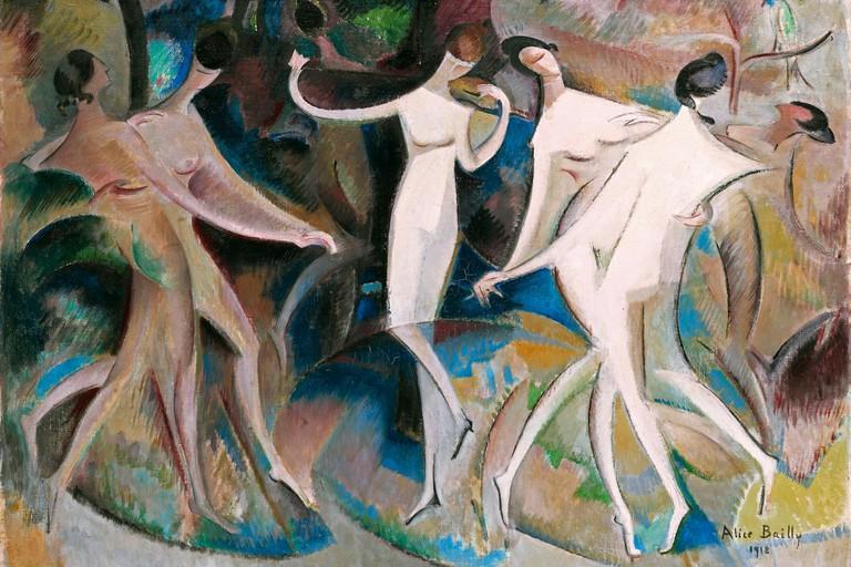 Alice Bailly, 'Le Caprice des Belles', 1918