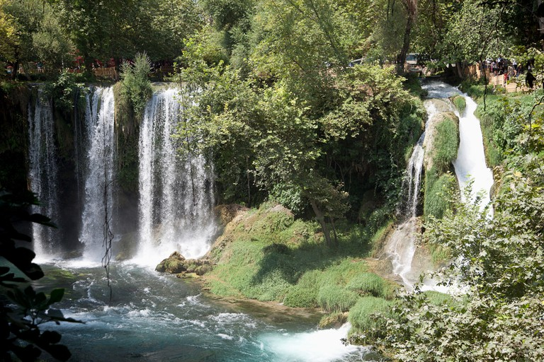 The stunning Kurşunlu Falls are located just outside the city