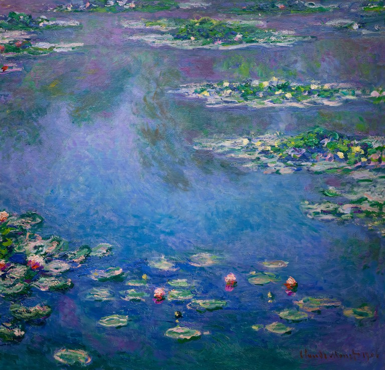 Water Lilies, Claude Monet, 1906,Art Institute of Chicago, Chicago, Illinois, USA, North America,