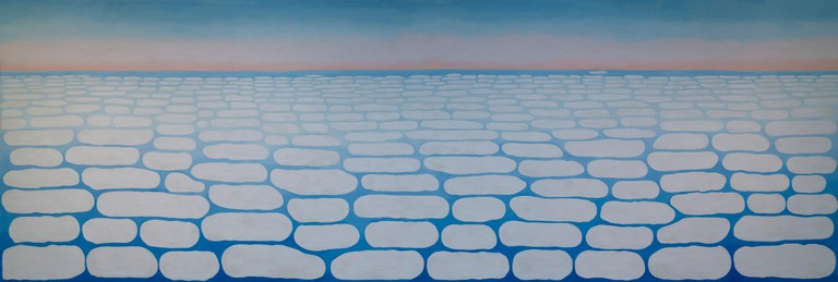 Sky above Clouds IV, Georgia O'Keeffe, 1965, Art Institute of Chicago, Chicago, Illinois, USA, North America,