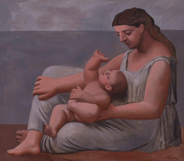 Mother and Child, Pablo Picasso, 1921, Art Institute of Chicago, Chicago, Illinois, USA, North America