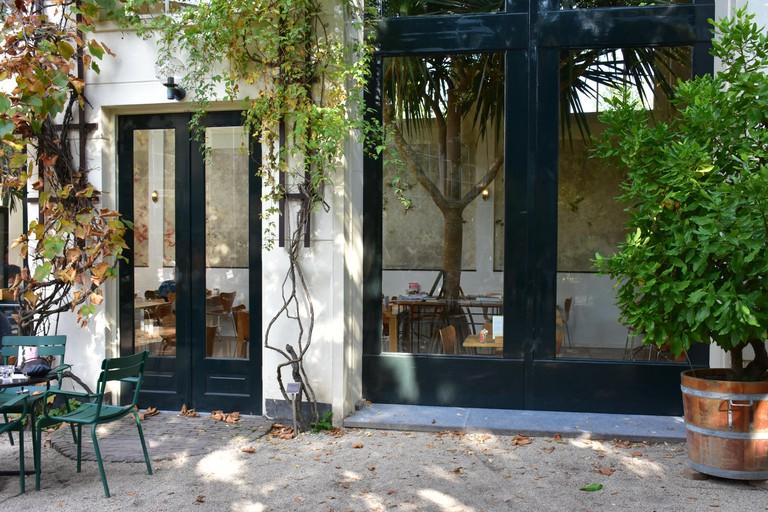 Botanical garden restaurant
