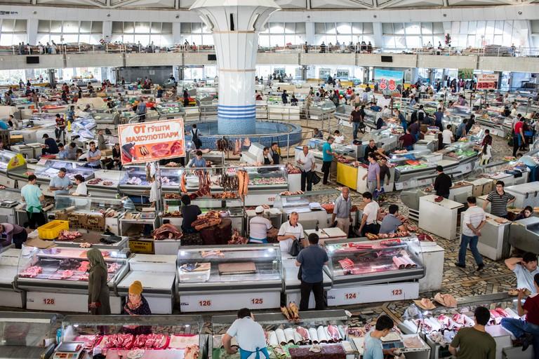 Chorsu Bazaar,Tashkent, Uzbekistan