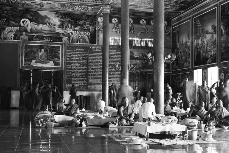 Vipassana Dhura Buddhist Centre in Phnom Udon Cambodia