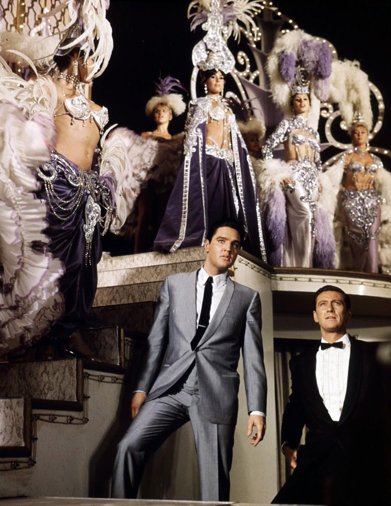 Editorial use only. No book cover usage. Mandatory Credit: Photo by Mgm/Kobal/REX/Shutterstock (5882806s) Elvis Presley Viva Las Vegas - 1963 Director: George Sidney MGM USA Scene Still Musical L'Amour en quatrième vitesse