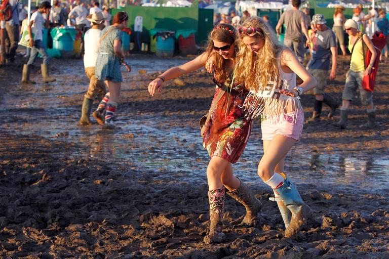 Britain Glastonbury Music Festival