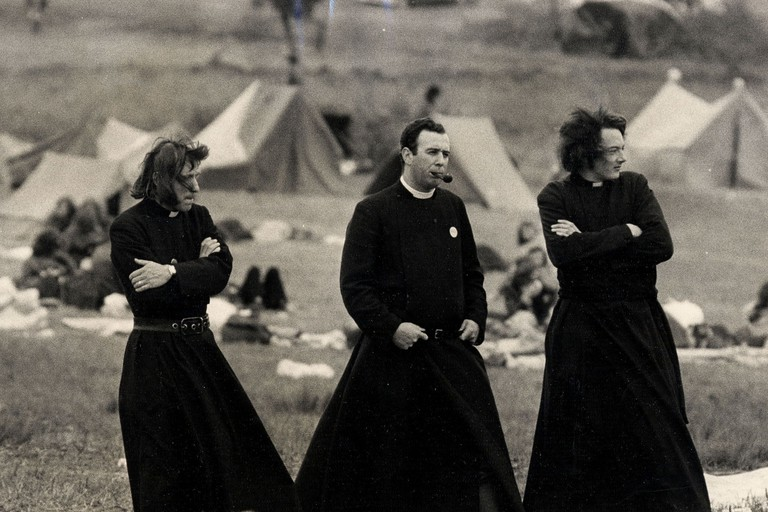 Glastonbury Music Festival, near Pilton, Somerset, Britain - 1971