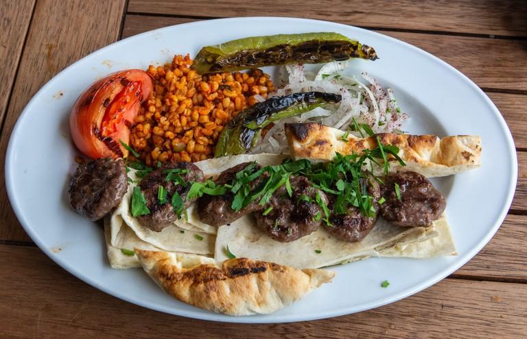 Enjoy some köfte in Istanbul