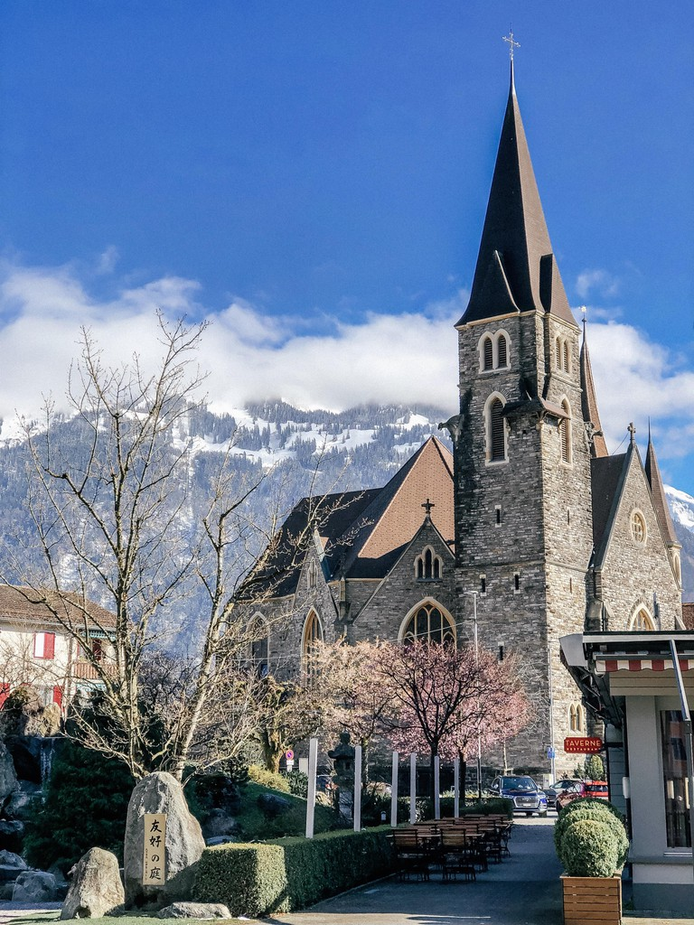 Castle Church, Interlaken.