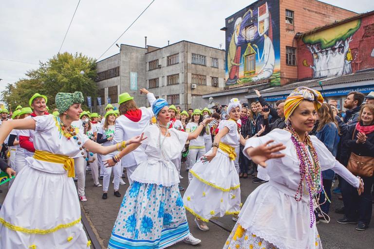 Street art festival Vulica Brasil in Minsk