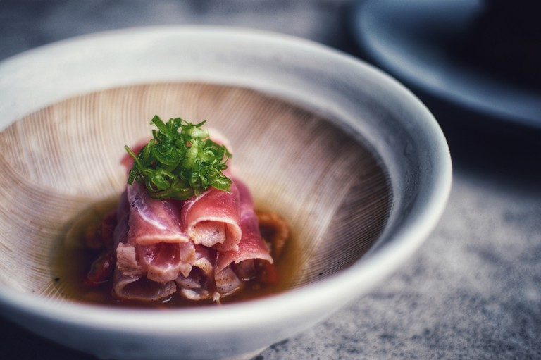 KYU is known for its first-class Asian dishes