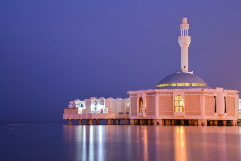 Masjid Al Rahma, Jeddah's floating mosque
