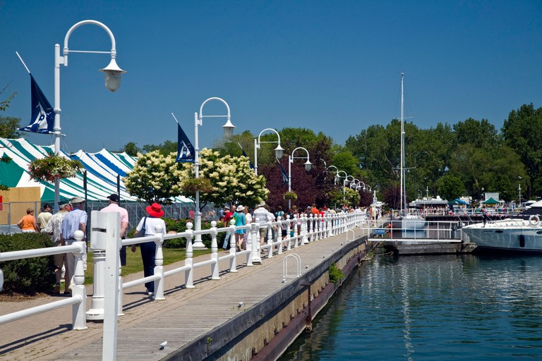 Water Front of Cobourg, Ontario, Canada.