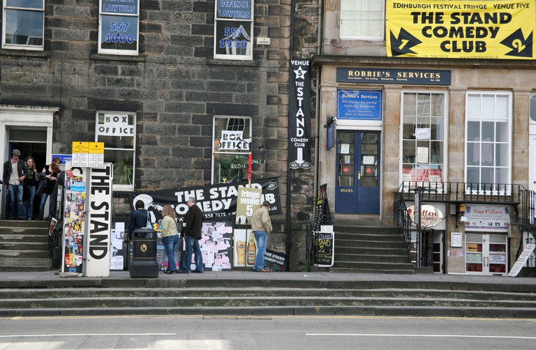 The Stand Comedy Club in Edinburgh
