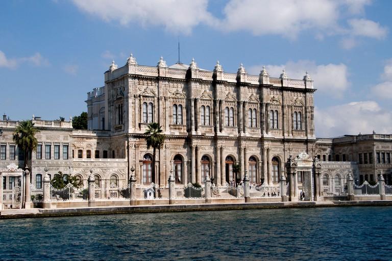 The Dolmabahce Palace Sarayi Bosphorus Ataturk Sultan Abdulmecid Ottoman