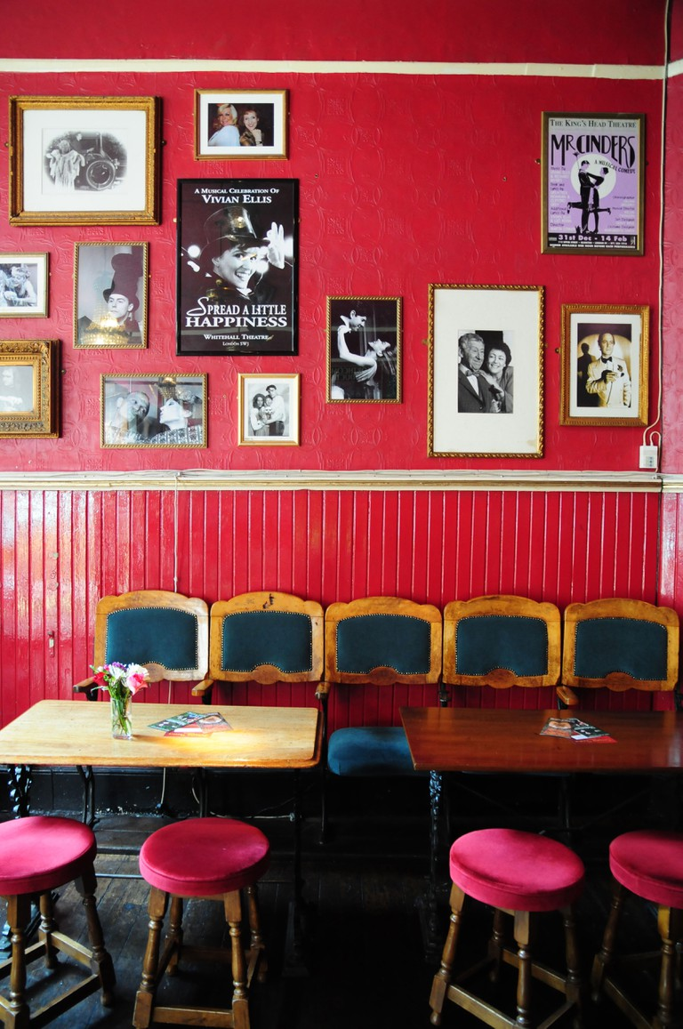 The King's Head theatre pub, Islington