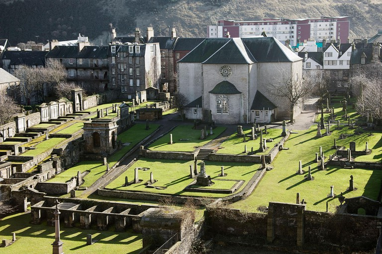 Many important figures in Edinburgh's history are buried at Canongate Kirk