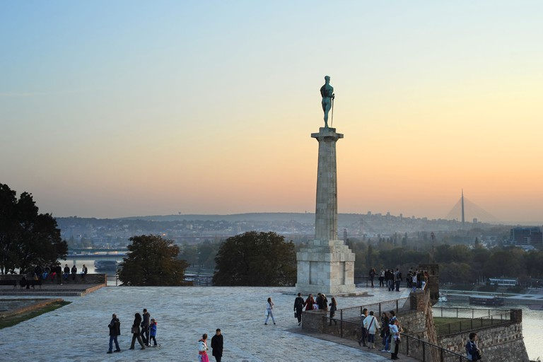Statue of the Victor or Statue of Victory is a monument in the Kalemegdan fortress in Belgrade, erected on 1928