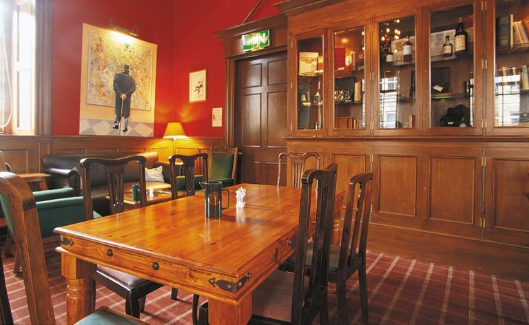 The Scotch Malt Whisky Society Tasting Room, Edinburgh.