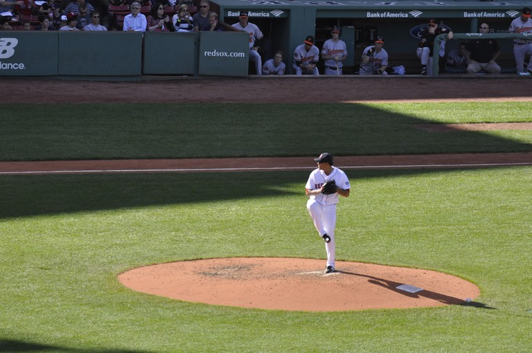Boston, USA, Sunday 23rd September 2012. Boston Red Sox play the Baltimore Orioles at Fenway Park