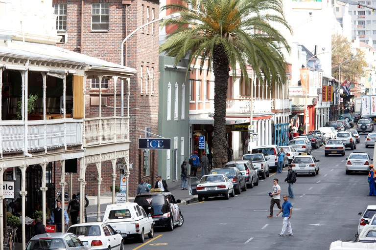 View of Long Street, City Centre, Cape Town, South Africa, Africa