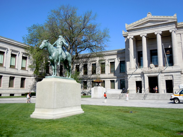 The Museum of Fine Arts, Boston, has a world-class art collection spanning millennia