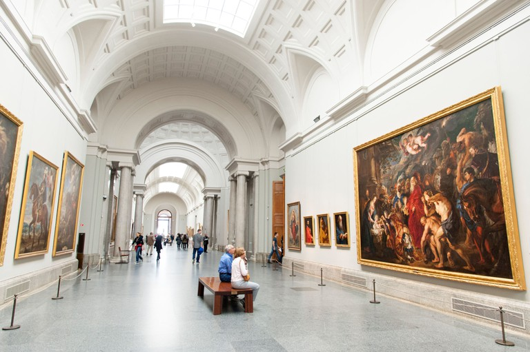 The Museo del Prado houses around 27,000 paintings