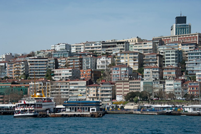 Kabatas Istanbul Turkey
