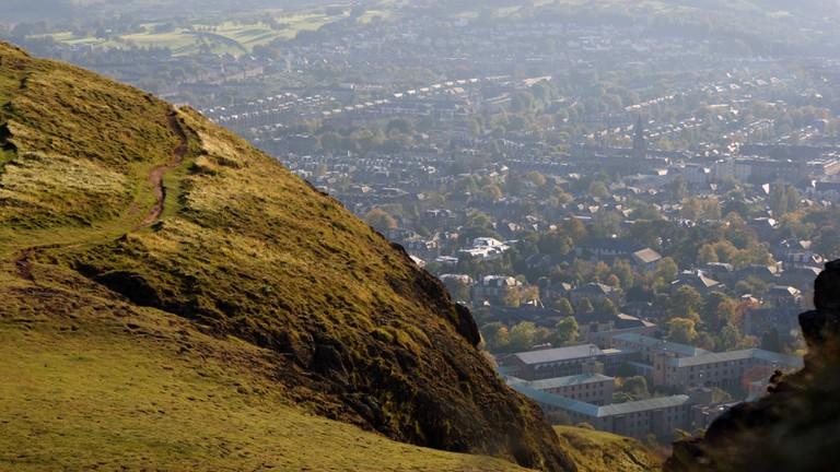 Arthur's Seat Edinburgh pathway