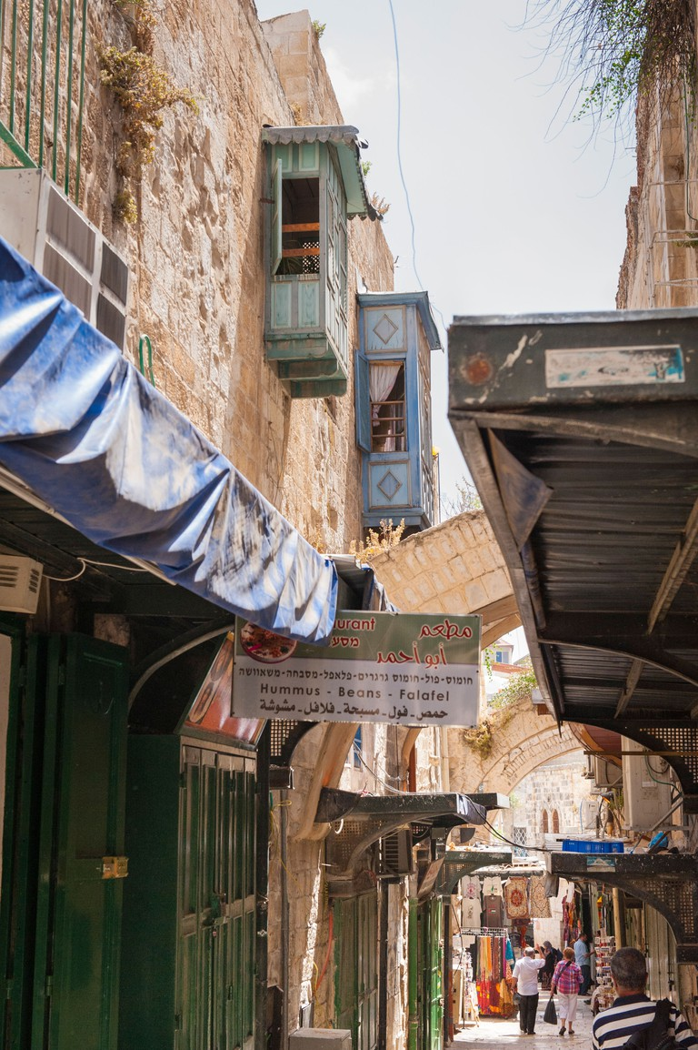 Street stalls in Jerusalem