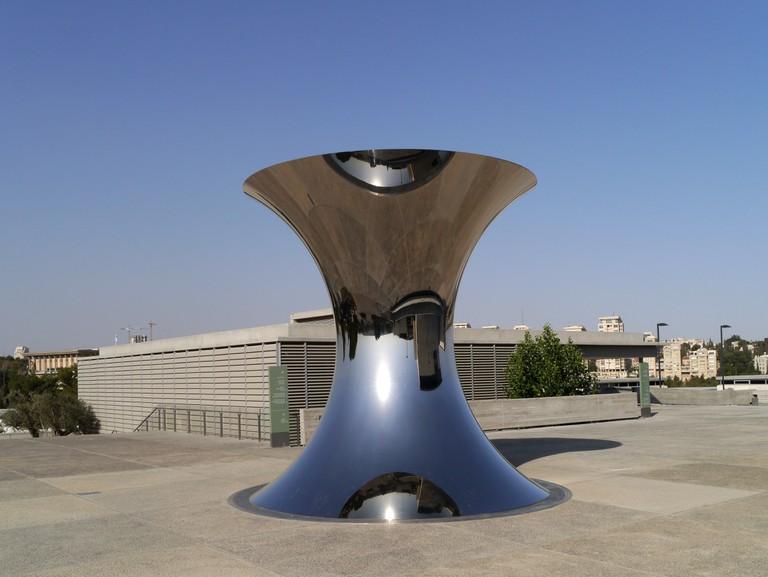 "Anish Kapoor, ""Turning the World Upside Down,"" Israel Museum, Jerusalem."