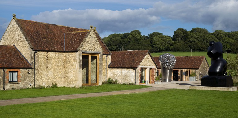 Hauser & Wirth Somerset.Picture - Copyright - David Bebber