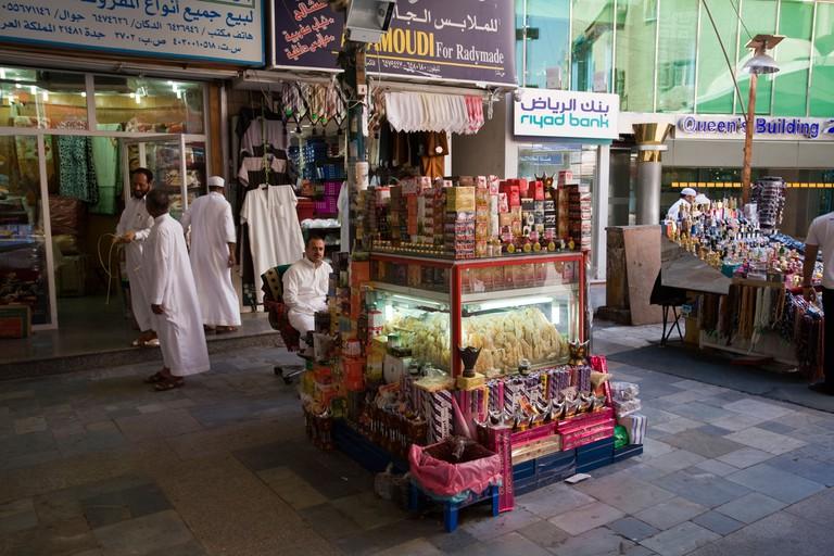 Souq al-Alawi market in Al-Balad, Jeddah